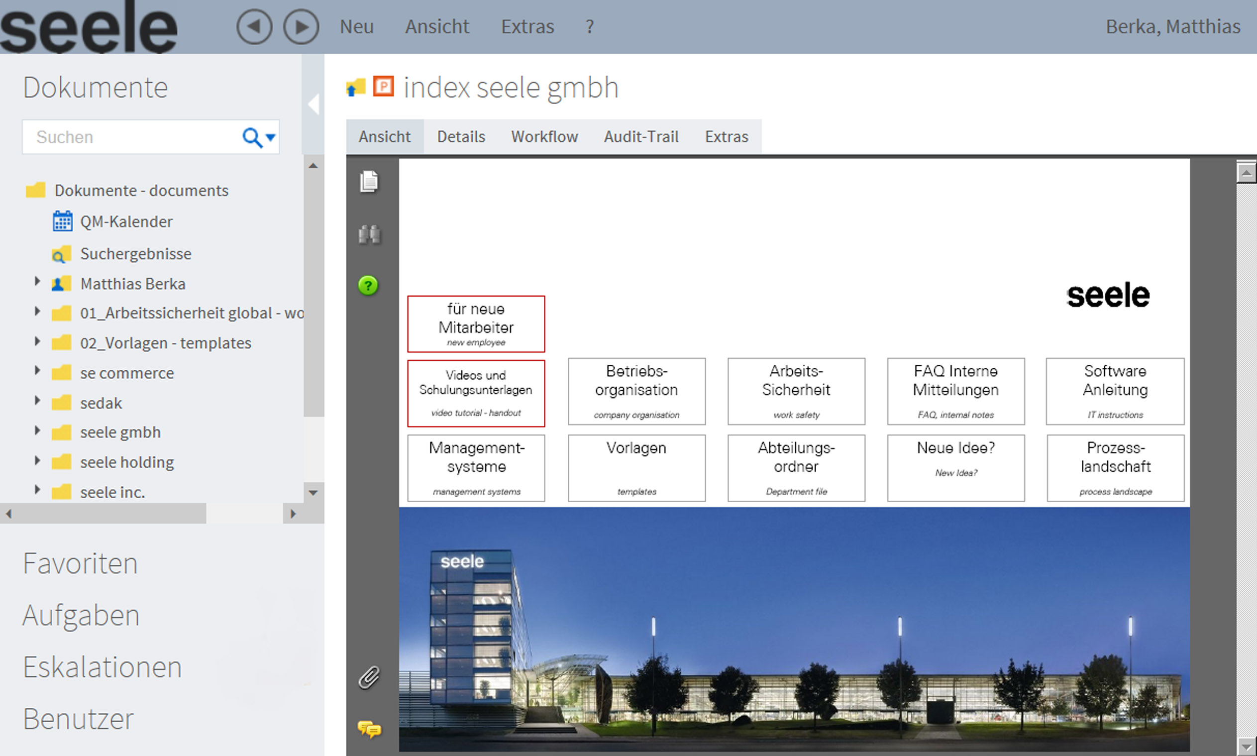 Startmaske seele GmbH